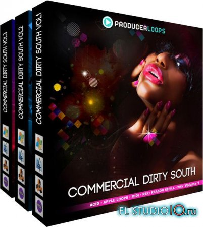 Commercial Dirty South Bundle v1-3