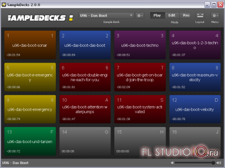 SampleDecks 2 RC3