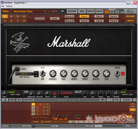 IK Multimedia - AmpliTube 3.8b