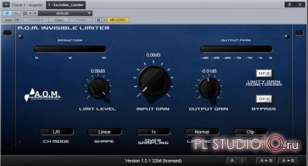 A.O.M. Factory Invisible Limiter 1.5.1