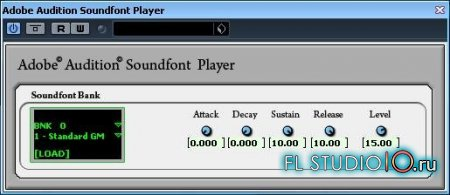Adobe Audition Soundfont Player 3.0
