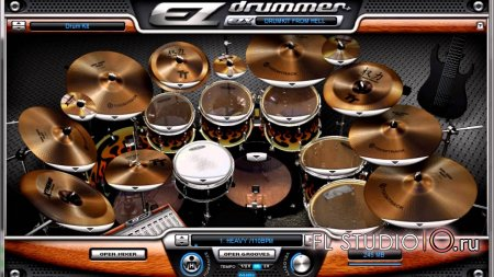 EZDrummer Drumkit From Hell