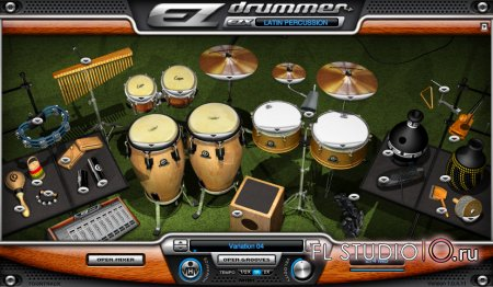 EZDrummer Latin Percussion