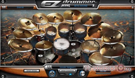 EZDrummer Metal Machine