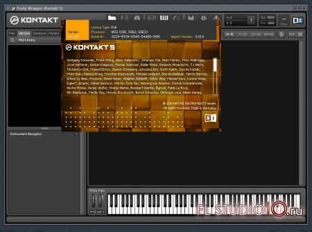 Native Instruments - Kontakt 5.4.1