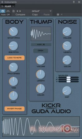 Guda Audio - KickR 1.1