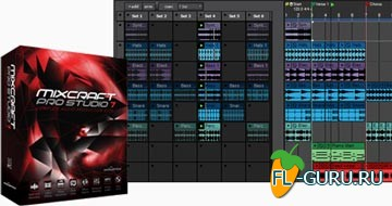 Acoustica Mixcraft Pro Studio 7.0.1 267 x86/x64 (плюс Loop Library Addon)