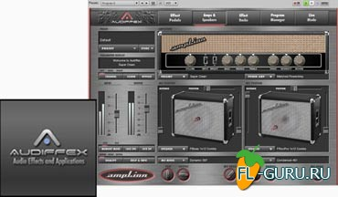 Audiffex ampLion Pro 1.0.4 STANDALONE.VST.RTAS