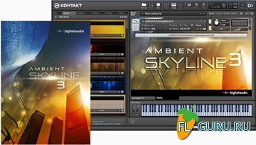 Big Fish Audio Ambient Skyline 3