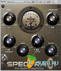 Crysonic SPECTRA C1 Pro Audio Compressor VST
