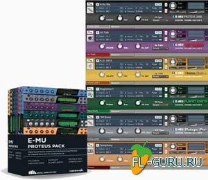 Digital Sound Factory E-MU Proteus Pack