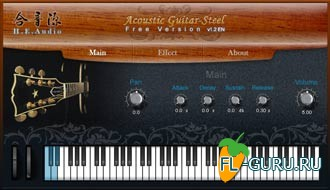 H.E. Audio Acoustic Guitar Free 1.3