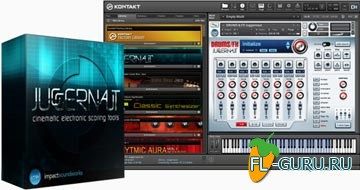 Impact Soundworks Juggernaut Cinematic Electronic Scoring Tools