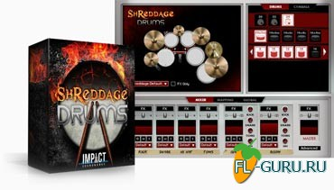 Impact Soundworks Shreddage Drums