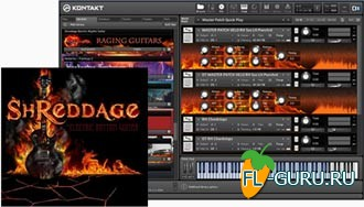 Impact Soundworks Shreddage Electric Rhythm Guitar+Shreddage X Expansion Guitar Samples Reloaded