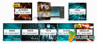 iZotope Iris Factory LiBRARY Plus 7 Sound Library