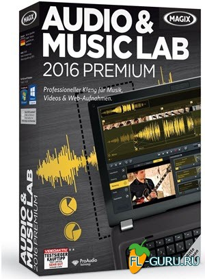 MAGIX - Audio & Music Lab 2016 Premium 21.0.2.38 x86 [2015, ENG + RUS]