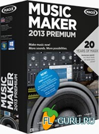 MAGIX Music Maker 2013 Premium v19.0.5.57