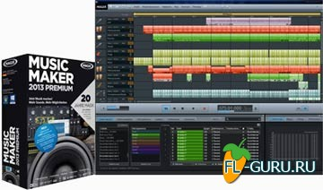 MAGIX Music Maker 2013 Premium v19.0.6.58 plus content