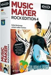 MAGIX Music Maker Rock Edition 4 v.6.0.0.6