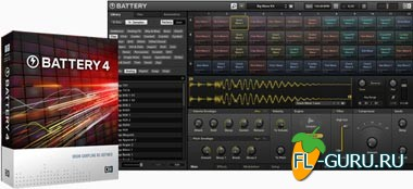 Native Instruments Battery 4.1.0.Update x86/x64 (плюс Factory Library 1.0.1.Update)