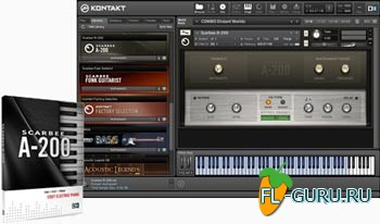 Native Instruments Scarbee A-200