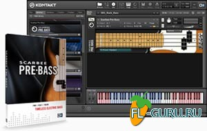 Native Instruments Scarbee Pre-Bass 1.1.0