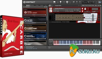Native Instruments Scarbee Red Bass