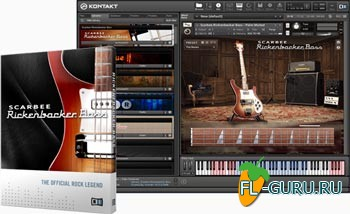Native Instruments Scarbee Rickenbacker Bass 1.2.0