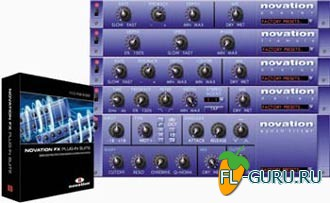 Novation FX Plug-in Suite VST 1.2