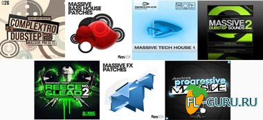 Presets Pack for Massive - пакет пресетов для Native Instruments Massive