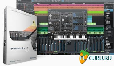 PreSonus Studio One 3 Professional 3.0.1 build 33975 x86/x64