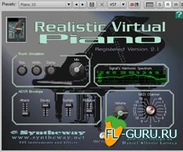 Syntheway Realistic Virtual Piano VSTi 2.1