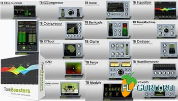 ToneBoosters All Plugins Bundle VST 2.3.0