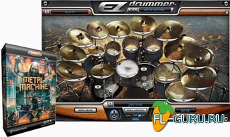 Toontrack Metal Machine EZX EXPANSION