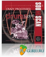 USB Soundscan vol.07 - Drum Loops Crazy Processed - библиотека сэмплов(Akai)