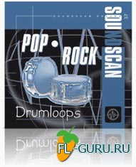 USB Soundscan vol.37 - Pop-Rock Drumloops - библиотека сэмплов(Akai)