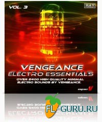 Vengeance Electro Essentials Vol. 3 - библиотека сэмплов, луп-сэмплов и басовых партий(Wave)
