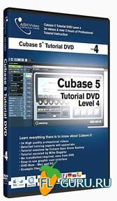 Видеоуроки ASK Video - Cubase 5 tutorial Level 4 of 4 на русском
