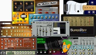 VST плагины электрогитары. The Abstrcat Guitar. DSK ElectriK GuitarZ. DSK Guitars Steel. DVS Guitar. NUSofting Microrock Pro. Strat-a-Varius VST. Suburban Guitarist. SuperRiff Guitar.