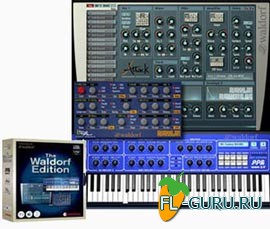 Waldorf Edition Plug-In Suite VST 1.7.3 x86/x64