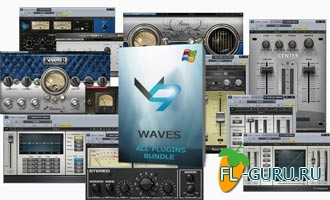 Waves All Plugins Bundle v9r10 VST.VST3.RTAS x86/x64