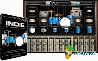 XLN Audio Addictive Drums ADpak Indie Addon