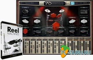 XLN Audio Addictive Drums ADpak Reel Machines Addon