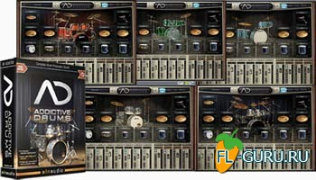 XLN Audio Addictive Drums 1.5.2 Full