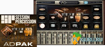 XLN Audio Session Percussion ADpak