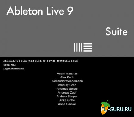 Ableton - Live 9.2.1 Suite х86 x64 [20.07.2015]