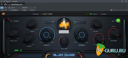 Beatskillz - Slam Dawg 1.0 VST, AAX, AU WIN.OSX x86 x64 [09.2015]