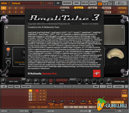 IK Multimedia - AmpliTube 3.15 3.15 [25.08.2015, ENG]