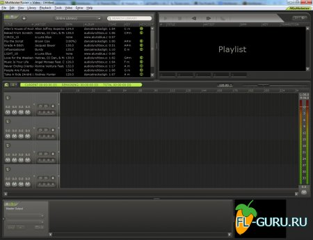 MixMeister Fusion+Video 7.4.2 x86 [2009, ENG] [AiR]